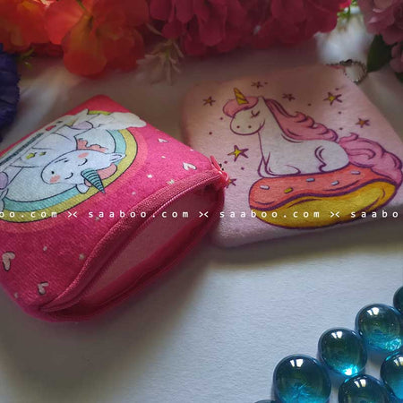 Unicorn Coin Pouches Combo 3
