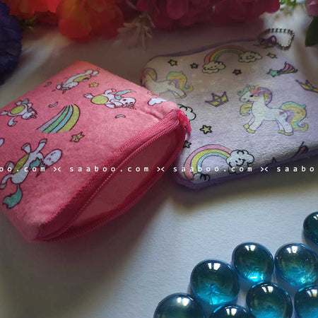 Unicorn Coin Pouches Combo 4