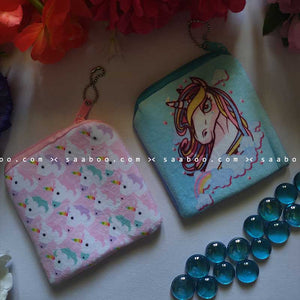 Unicorn Coin Pouches Combo 5