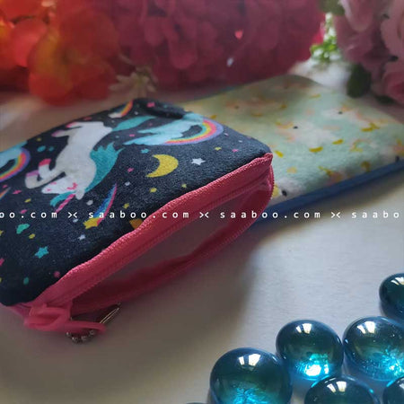 Unicorn Coin Pouches Combo 6