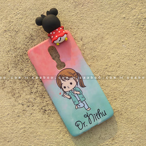Toy Case - saaboo - Minnie Toy and Cute Girl Name