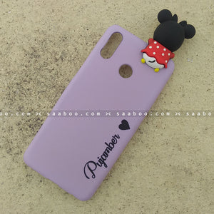 Toy Case - saaboo - Minnie Toy and Lavender Name Case