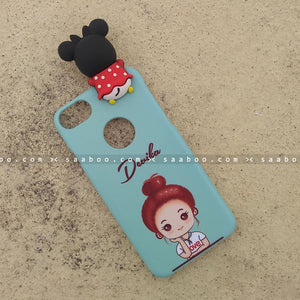 Toy Case - saaboo - Minnie Toy and Happy Girl Case