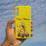 Case - saaboo - Mobile Case with Yellow Minions and Name Print