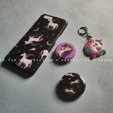 Accessories - saaboo - Unicorn Black Case Combo