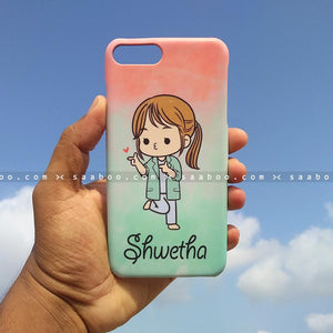 Case - saaboo - Mobile Case with Doctor Girl and Name