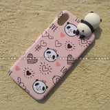 Toy Case - saaboo - Panda Toy and Cute Pink Pandas Case
