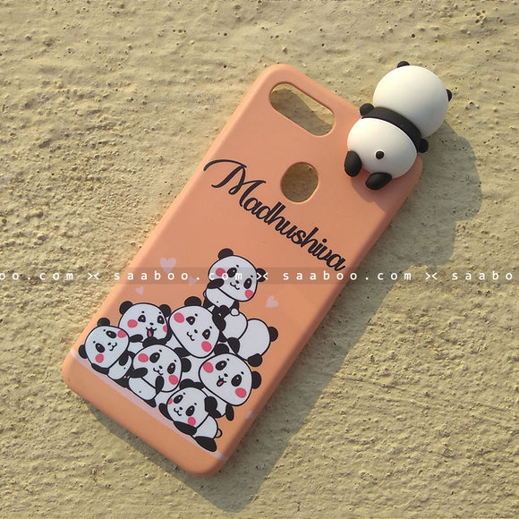 Toy Case - saaboo - Panda Toy and Peachy Orange Pandas Case