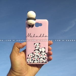 Toy Case - saaboo - Panda Toy and Lavender Pandas Case