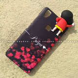 Toy Case - saaboo - Shinchan Toy and Black Red Heart Name Case