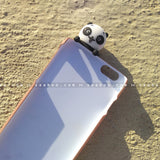 Toy Case - saaboo - Panda Toy and Brown Case with Name