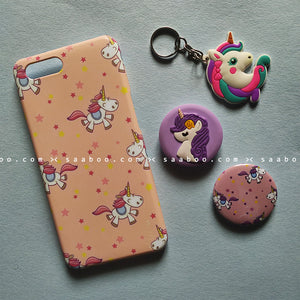 Accessories - saaboo - Unicorn Peach Case Combo