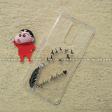 Toy Case - saaboo - Shinchan Toy and Feather Name Case