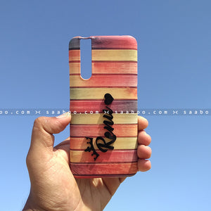 4D Case - saaboo - 4D Case Colorful Wooden with Name