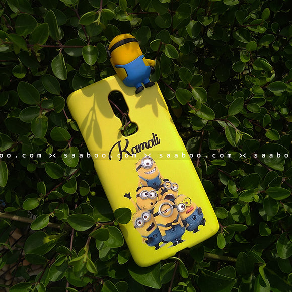 Toy Case - saaboo - Minion Toy and Minions Name Case