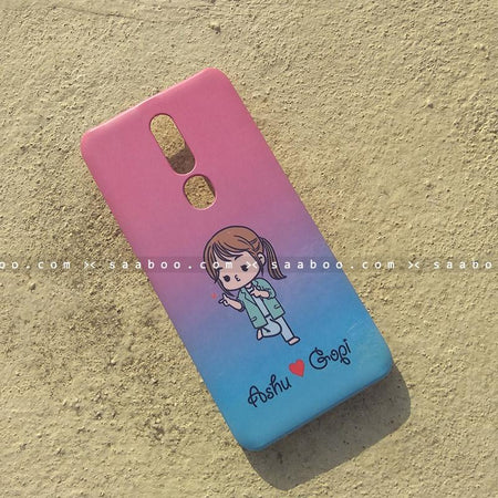Case - saaboo - Mobile Case with Happy Doctor Girl and Style Name Print