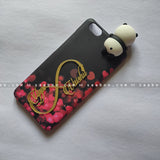 Toy Case - saaboo - Panda Toy and 4D Name Hearts Case