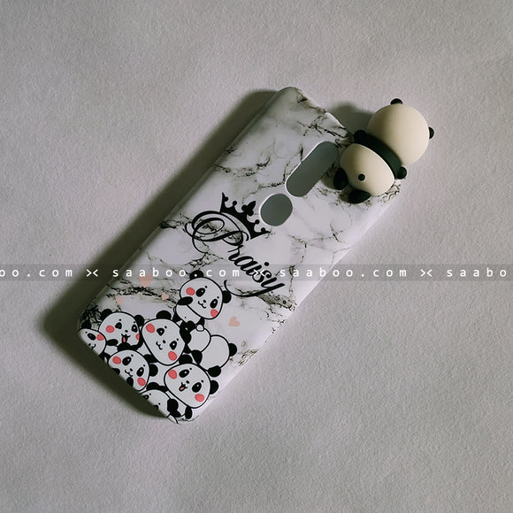 Toy Case - saaboo - Panda Toy and Pandas Marble Name Case