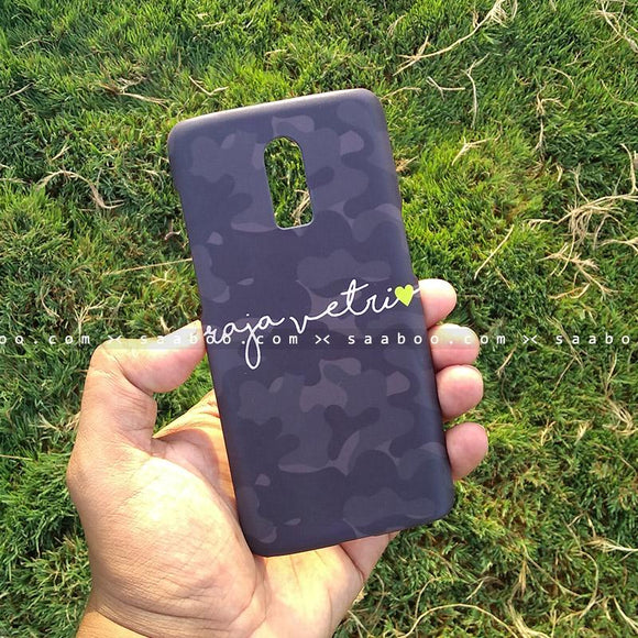 Case - saaboo - Mobile Case with Camouflage and Style Name Print