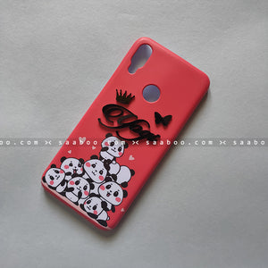 4D Case - saaboo - Red Pandas with 4D Name