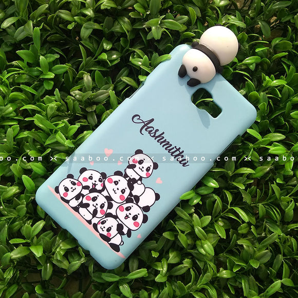 Toy Case - saaboo - Panda Toy and Sky Blue Pandas Name