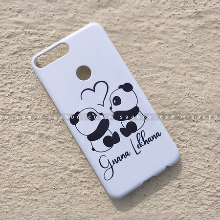 Case - saaboo - Pandas Case with Name Print