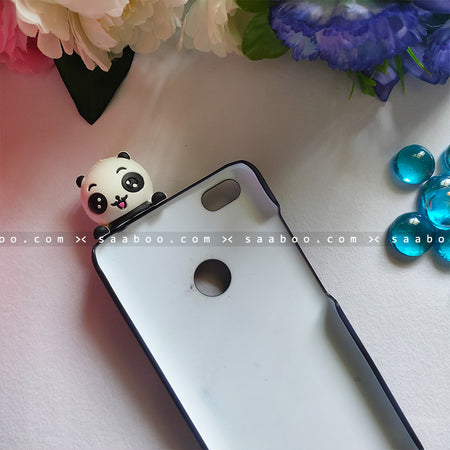 Toy Case - saaboo - Panda Toy With Black Pandas Name Case