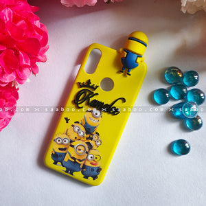 Toy Case - saaboo - Minion Toy and 4D Name Minions Case