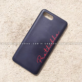 Case - saaboo - Black Case with Red Name Print