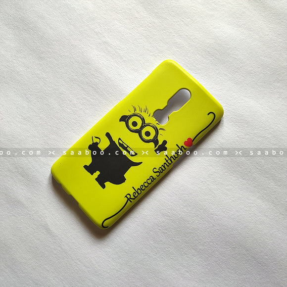 Case - saaboo - Hi Minion with Name Print