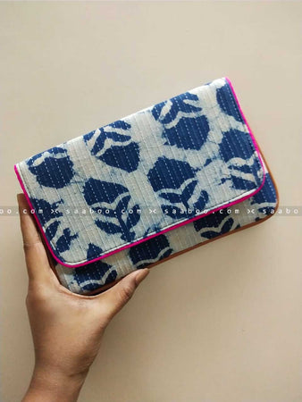 Ikat Clutches with Light Ikat Design