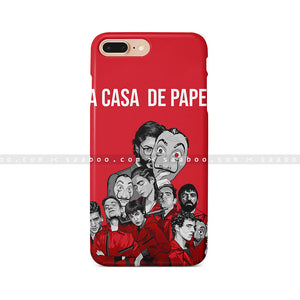 Money Heist Lacasa De Papel Art Case