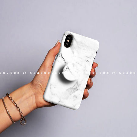 Gripper Case With White marble