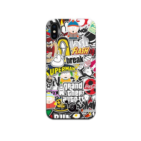 Hard Case - saaboo - Superhero mania case