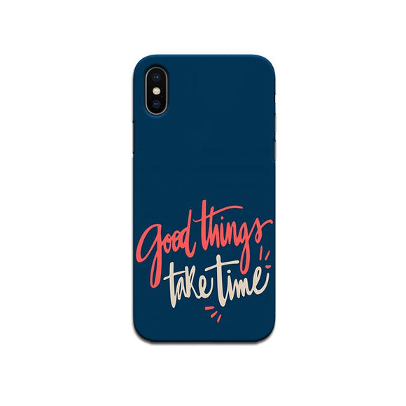 Hard Case - saaboo - Good Things case-for iPhone X