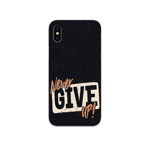 Hard Case - saaboo - Never Give Up case