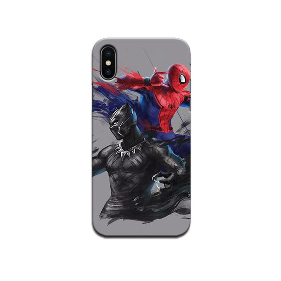 Hard Case - saaboo - Black Avengers and Spiderman