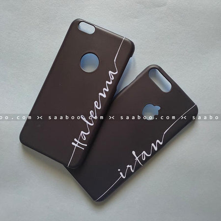 Couple Cases - saaboo - Couple Cases White Font Style Name