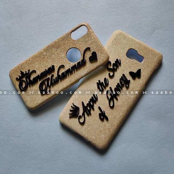 Couple Cases - saaboo - Couple Cases Golden Glitter Name