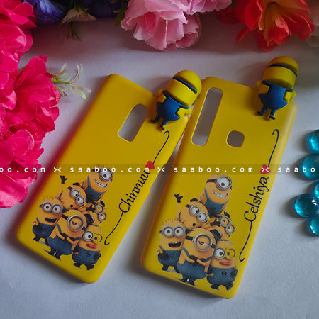 Couple Cases Minion Toy Minion Love Name