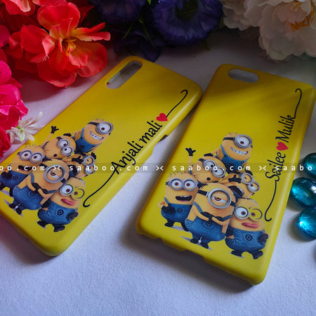 Couple Cases Minions Name Cases