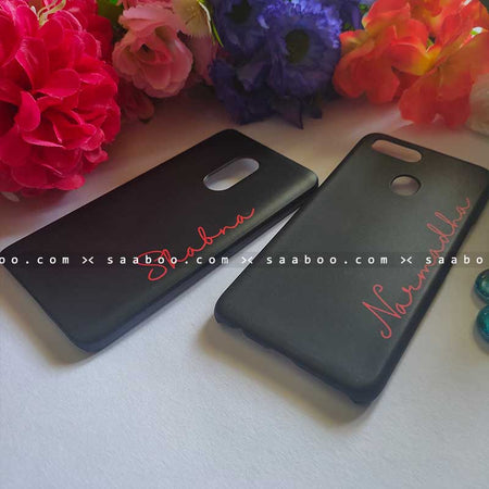 Black with Name Cases for BFF Goals and Couple Goals