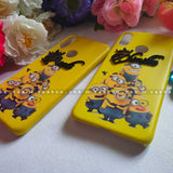 4D Name Minion Case for BFF Goals and Couple Goals