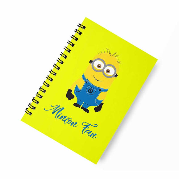 Minion Fan A5 Spiral Notebook