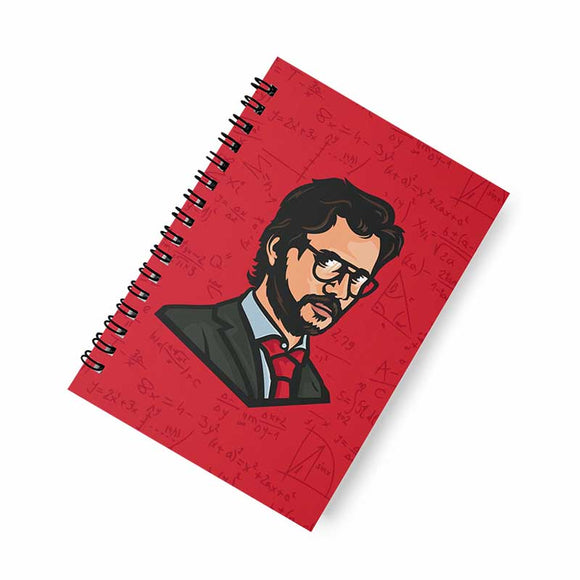 The Professor A5 Spiral Notebook