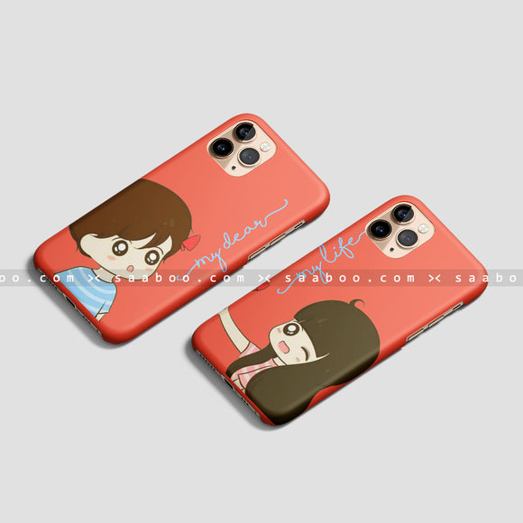 Boy and Girl Cute couple case