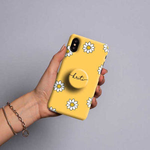 Gripper Case With Yellow Flower