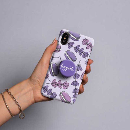 Gripper Case With Lavender Floral