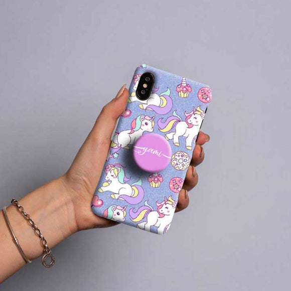 Gripper Case With Lavender Unicorn