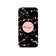 Gripper Case With Black Peach Floral Name